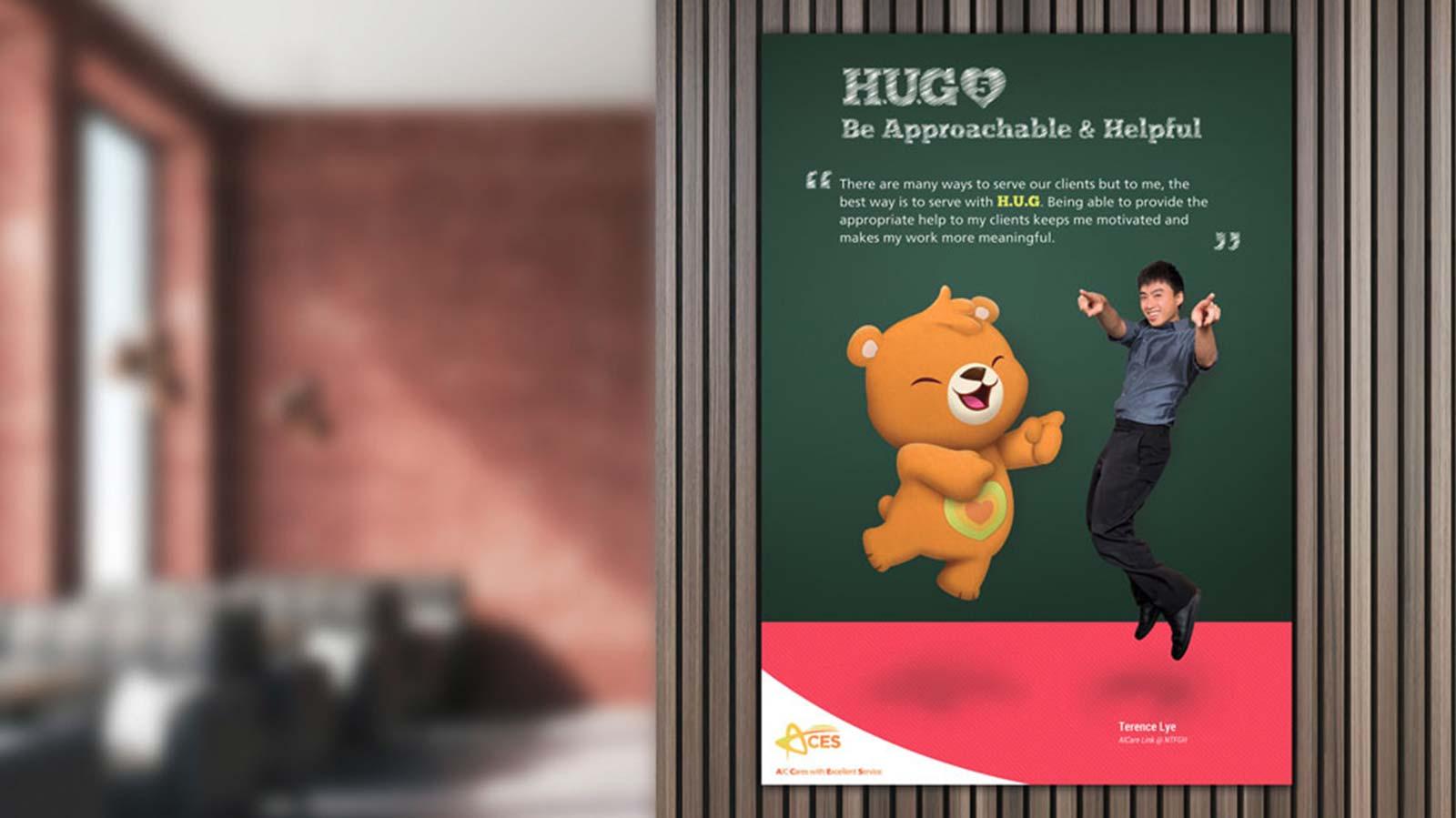 AIC Mascot Bear