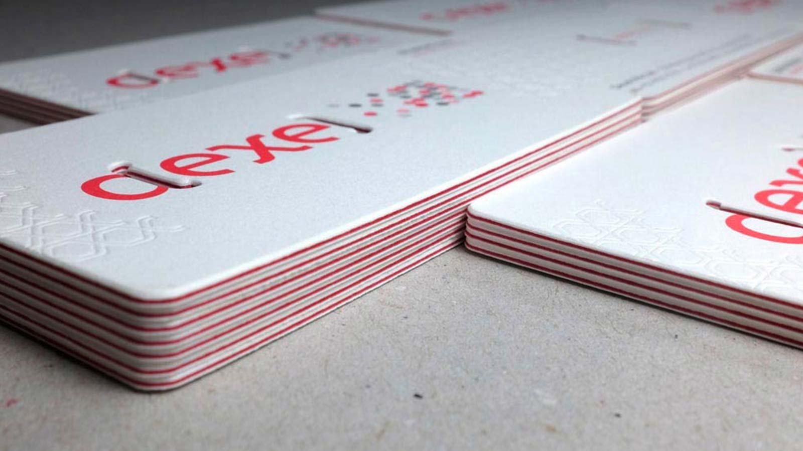 Brand Identity – Dexel Namecard