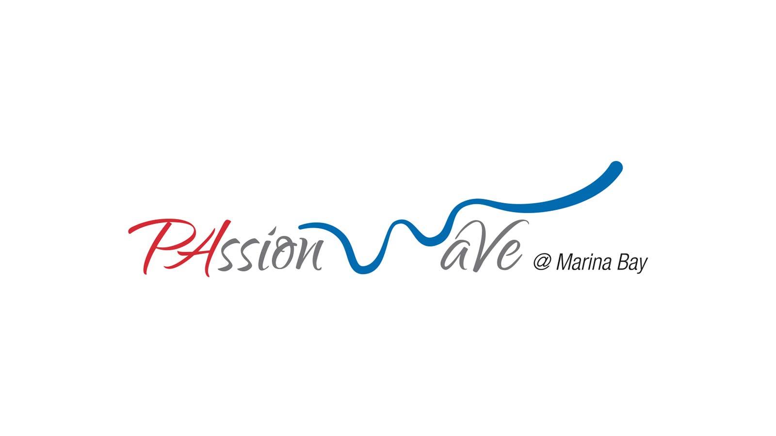 PAssion WaVe Marina Bay Logo Design